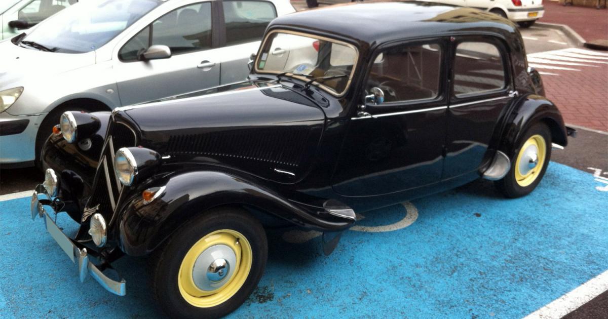citro u00ebn traction 11 b2 1955  une voiture de collection