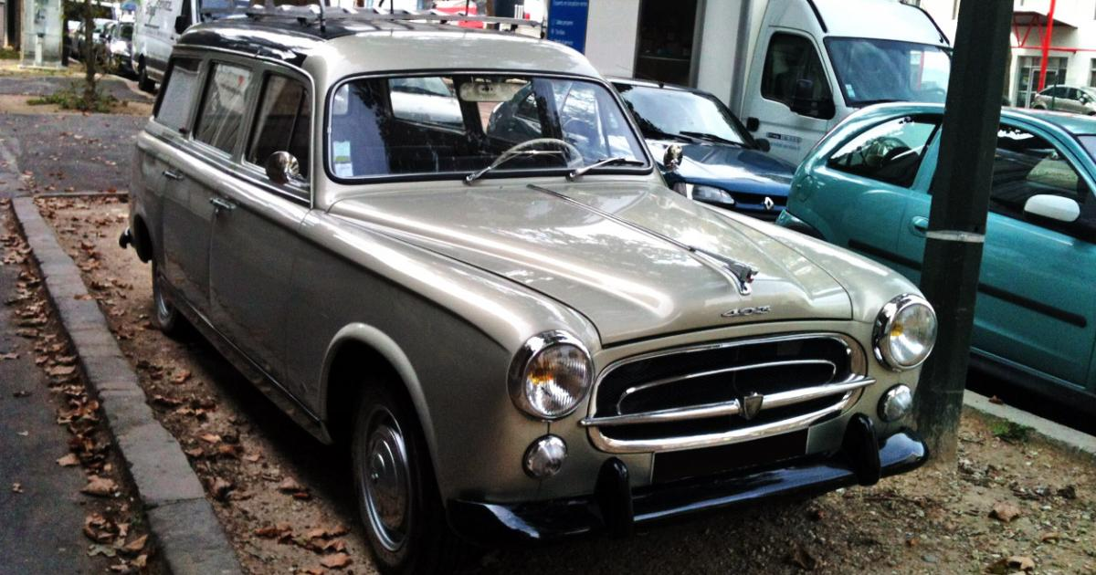 peugeot 403 break  une voiture de collection propos u00e9e par
