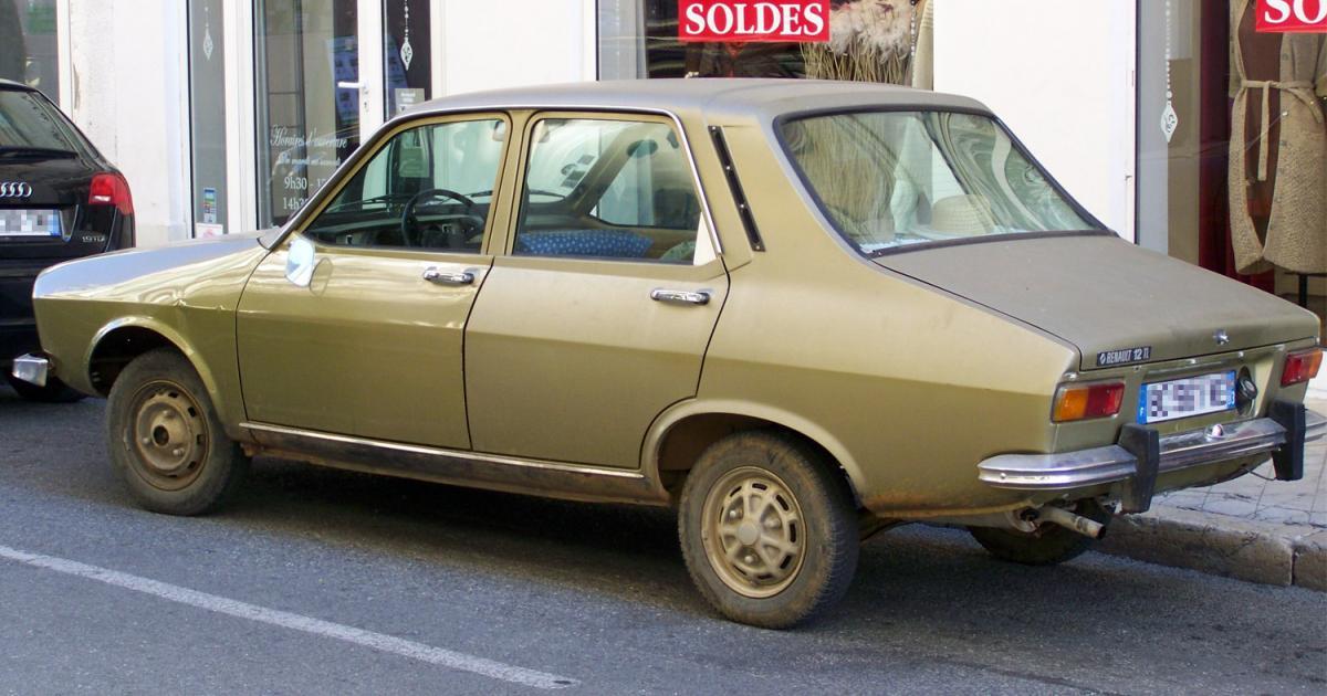 renault 12 tl marron  une voiture de collection propos u00e9e