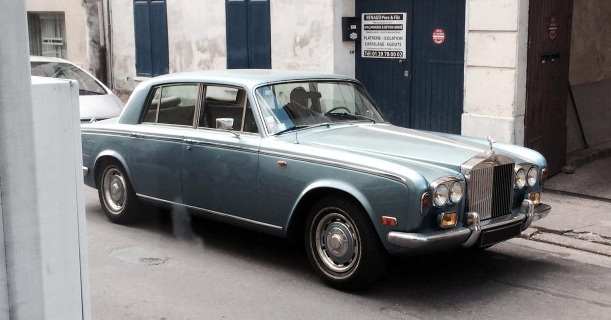 rolls royce silver shadow une voiture de collection propos e par j r me t. Black Bedroom Furniture Sets. Home Design Ideas
