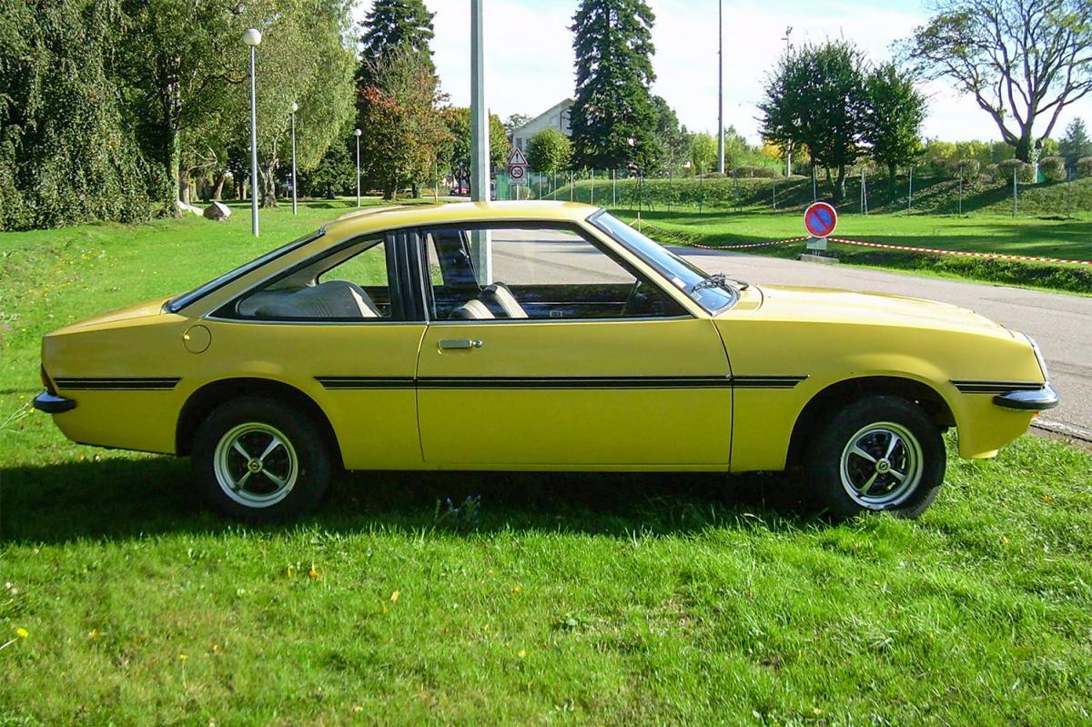opel manta 1200 sr 1977 une voiture de collection propos e par xav d. Black Bedroom Furniture Sets. Home Design Ideas