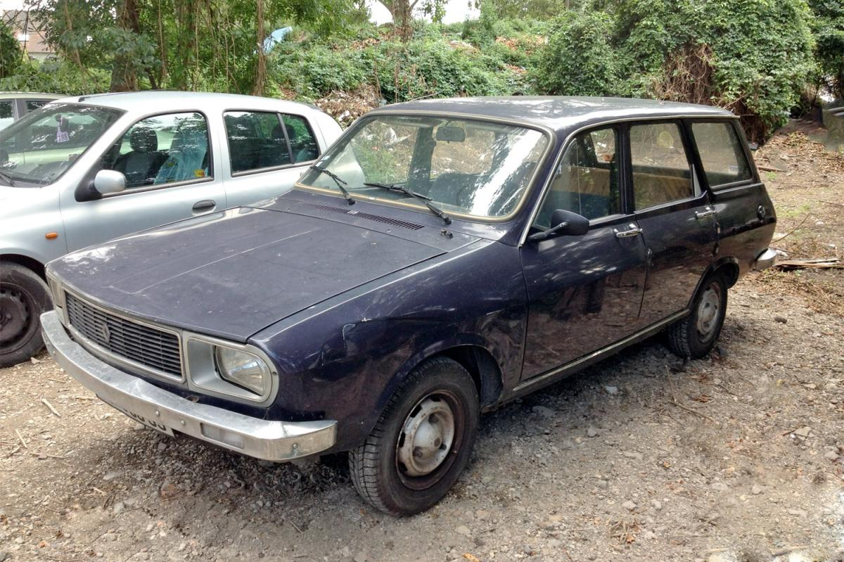 renault 12 break  une voiture de collection propos u00e9e par