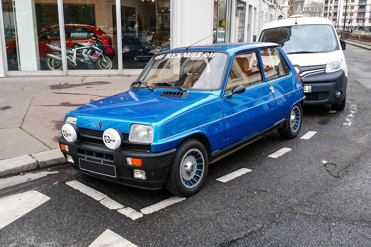 renault 5 alpine turbo une voiture de collection propos e par christophe d. Black Bedroom Furniture Sets. Home Design Ideas