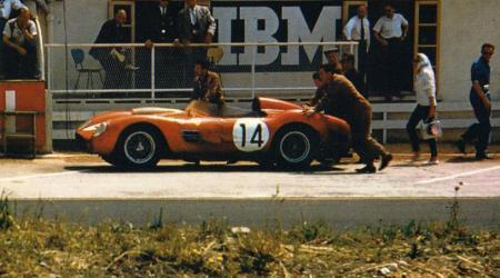 Voiture de collection « Ferrari 250 Testa Rossa 24 heures du Mans 1959 »
