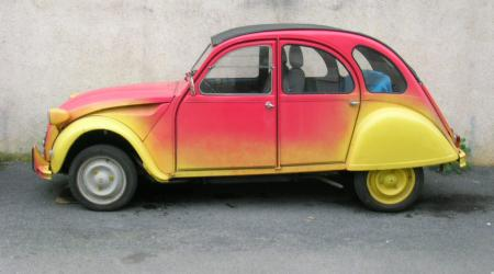 Voiture de collection « 2cv 1977 »