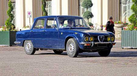Voiture de collection « Alfa Romeo Giulia Nuova Super 1600 »