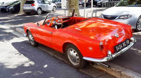 Voiture de collection « Alfa Romeo Giulia Spider »