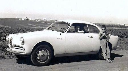 Voiture de collection « Alfa Roméo Giulietta Sprint 1959 »