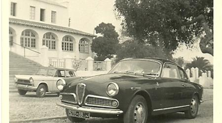 Voiture de collection « Alfa Romeo giulietta sprint veloce »
