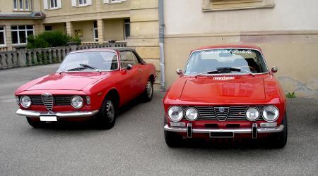 Alfa Roméo Giulia GTC et Giulia 2000 GTV