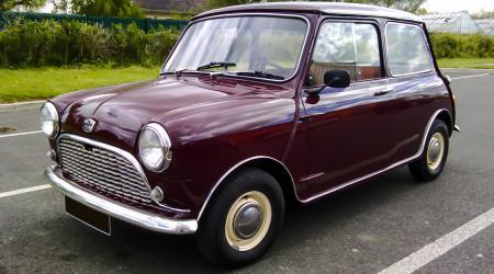 Voiture de collection « Austin Mini 850 »