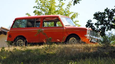 Voiture de collection « Austin mini clubman estate de 1972  »