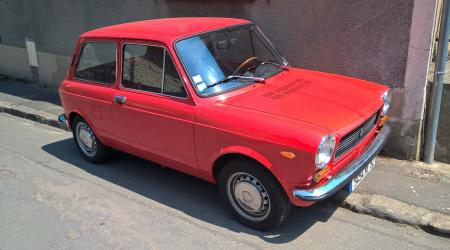 Voiture de collection « Autobianchi A112 »