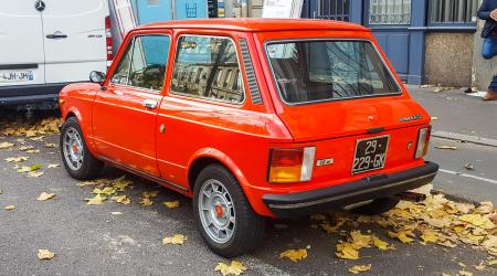 Voiture de collection « Autobianchi A112 Abarth »