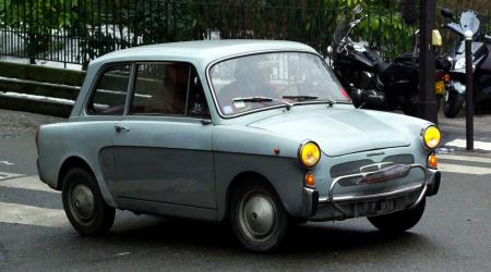 Voiture de collection « Autobianchi Bianchina »