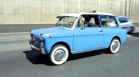 Voiture de collection « Autobianchi Bianchina Belvedere »