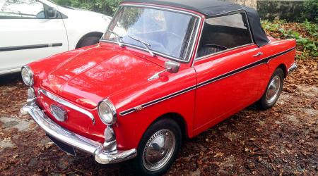 Voiture de collection « Autobianchi Bianchina Eden Roc »