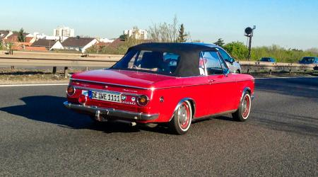 Voiture de collection « BMW 1600 Cabriolet »