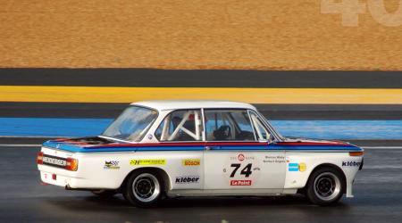 Voiture de collection « BMW 2002 Tii - 24 heures du Mans 1975 »