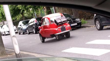 Voiture de collection « BMW isetta »