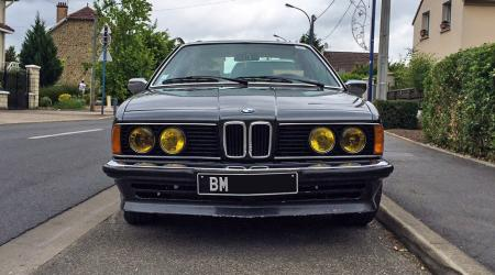 Voiture de collection « BMW 628 CSI »