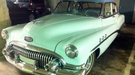 Voiture de collection « Buick Eight »