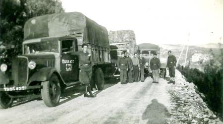 Voiture de collection « Camions militaires »