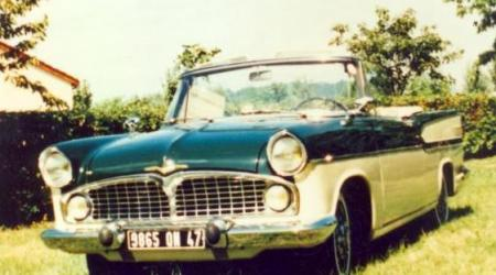 Voiture de collection « Simca Chambord cabriolet »