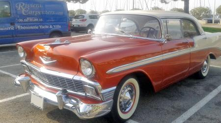 Voiture de collection « Chevrolet 1956 »