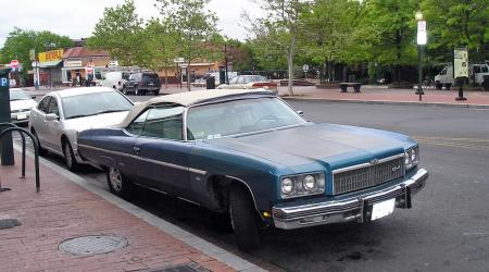 Voiture de collection « Chevrolet Caprice 1975 »