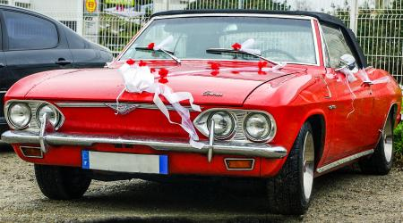 Voiture de collection « Chevrolet Corvair »