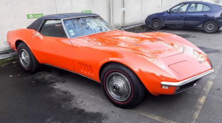Voiture de collection « Chevrolet Corvette 427 convertible »