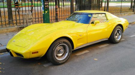 Voiture de collection « Chevrolet Corvette C3 »