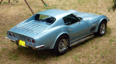 Voiture de collection « Chevrolet Corvette C3 Stingray »