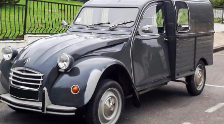Voiture de collection « Citroën 2CV AK250 »