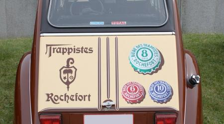 Voiture de collection « Citroën 2CV Bières des Trappistes »