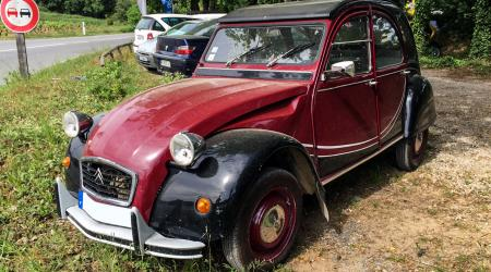 Voiture de collection « Citroën 2cv Charleston »