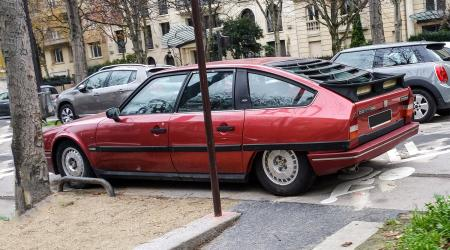 Voiture de collection « Citroën CX 25 GTI Turbo »