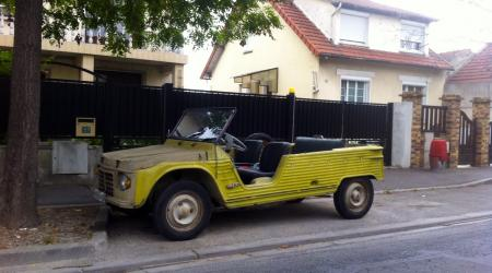 Voiture de collection « Citroën Méhari »
