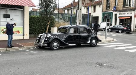 Voiture de collection « Citroën Traction »