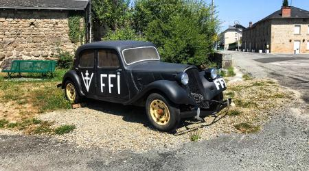 Voiture de collection « Citroën Traction FFI »