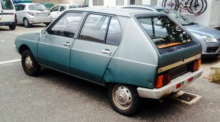 Voiture de collection « Citroën Visa I Club (1978) »