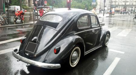 Voiture de collection « Volkswagen Coccinelle Ovale »