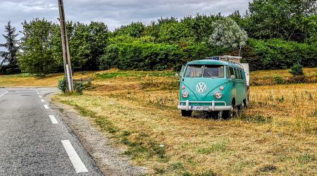 Voiture de collection « Volkswagen Combi T1 »