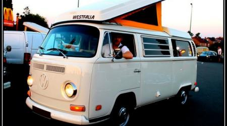 Voiture de collection « Combi Volkswagen T2A US »