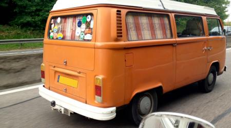 Voiture de collection « Combi T2B Volkswagen Westfalia »