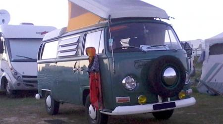 Voiture de collection « Volkswagen Combi VW T2A »