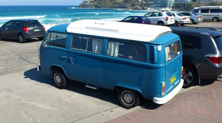 Voiture de collection « Combi Volkswagen T2B Australien »