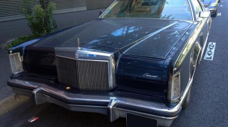 Voiture de collection « Lincoln Continental Mark V »