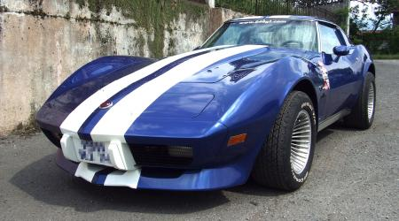 Voiture de collection « Chevrolet Corvette C3 Stingray 1976 V8 5,7l »